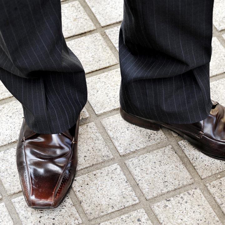 靴やソックスの工夫も大事